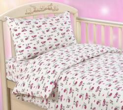 """Купить детское постельное белье из трикотажа """"Лапочка"""""""